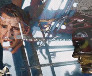captain america, fandom, and Lyrics image