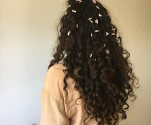 brown, cool, and curly image