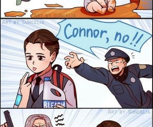 Connor, Hank, and detroit:become human image