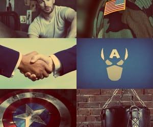 aesthetic, captain america, and fandom image