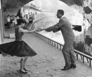 black and white, dance, and paris image
