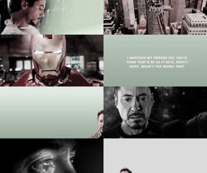 graphic, iron man, and robert downey jr image