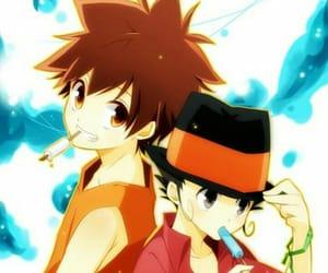 anime, tsuna, and kawaii image