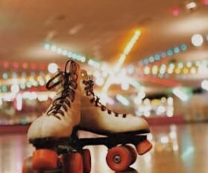 80s, aesthetic, and roller skates image