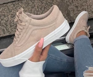 brown, fashion, and vans image