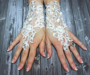 accessories, etsy, and lace image