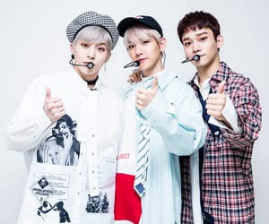Chen, exo k, and exo cbx image