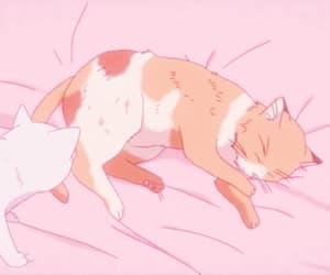 anime, pink anime, and anime aesthetic image