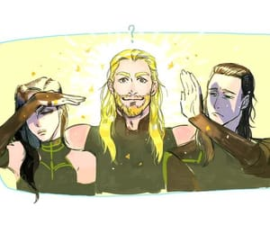 brothers, thor odinson, and thorki image