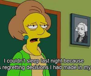 quotes, simpsons, and life image