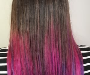 gorgeous, hair dye, and pink image