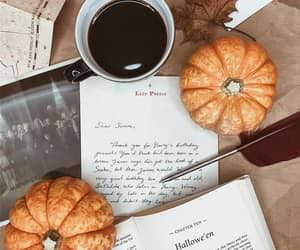 autumn, coffee, and Halloween image