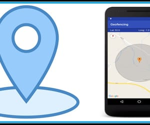geofencing services, geofence service, and geo advertising image