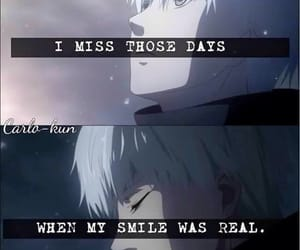 anime, quote, and sad image