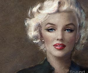Marilyn Monroe, canvas print, and posters image