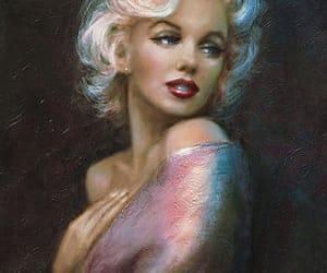 art, artwork, and Marilyn Monroe image