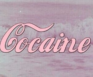 drugs, pink, and cocaine image