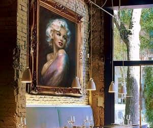 artwork, portrait, and Marilyn Monroe image