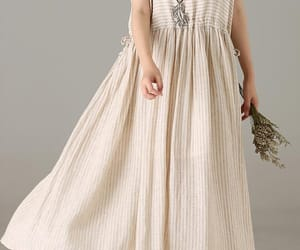 etsy, long dress, and casual dress image