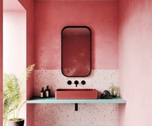 pink, architecture, and home image