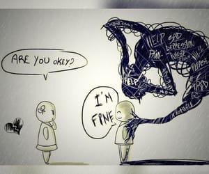 sad, depression, and fine image