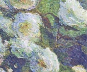 art, artist, and flowers image