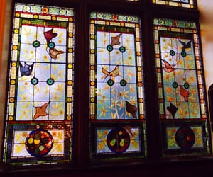 colors, window, and glass stained image