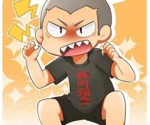 anime, volleyball, and anime guys image