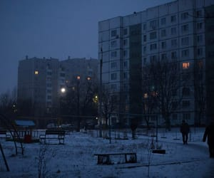 russia, city, and snow image