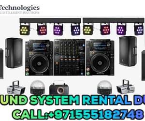 gif and speakers rental dubai image