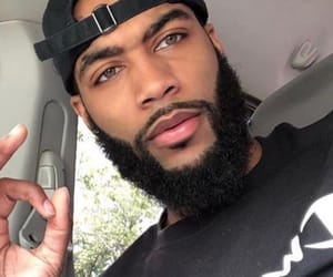 attractive, beards, and eyes image