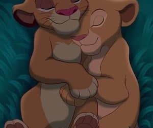 simba, cute, and love image