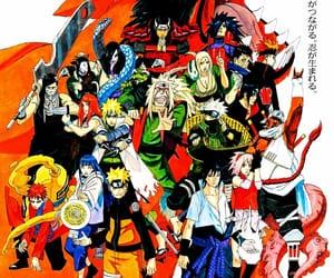 gaara, manga, and sasuke image
