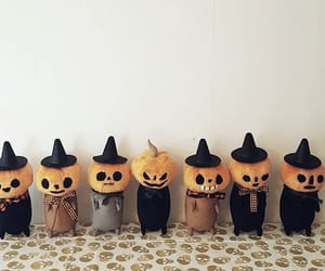 Halloween, cute, and pumpkin image