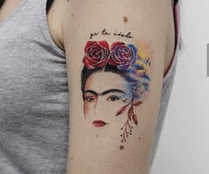 tattoo and frida kahlo image