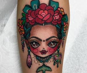 frida kahlo and tattoo image