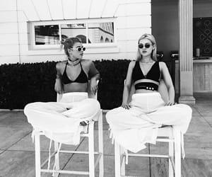 summer, black, and girls image