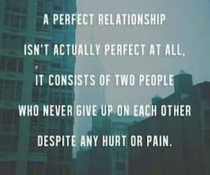 giving up, love forever, and quote love image