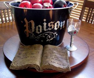 book, Halloween, and poison image
