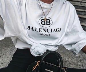 fashion, Balenciaga, and shirt image