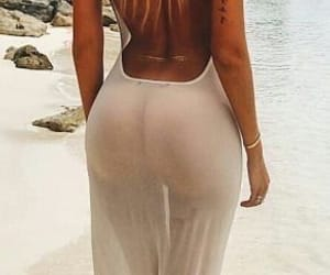 beach, blonde, and body goals image