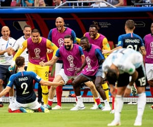 france, world cup 2018, and french team image