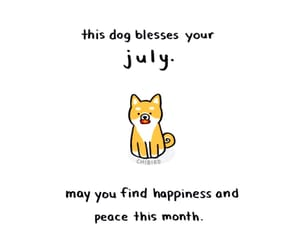 july, chibird, and monthly image