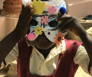 africa, mask, and school image