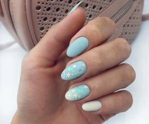 nails, beautiful, and manicure image