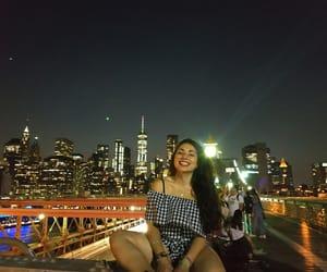 america, brooklyn bridge, and new york image