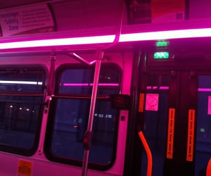 pink, neon, and grunge image