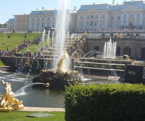 beautiful, fountains, and russia image