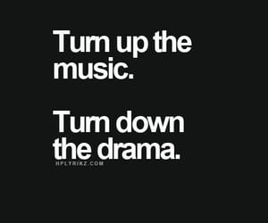 quotes, drama, and music image