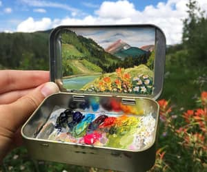 colors, nature, and drawing image